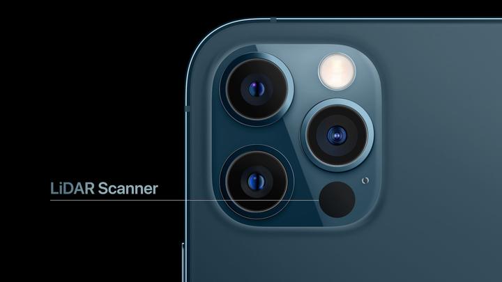 iphone 12 liDAR Scanner