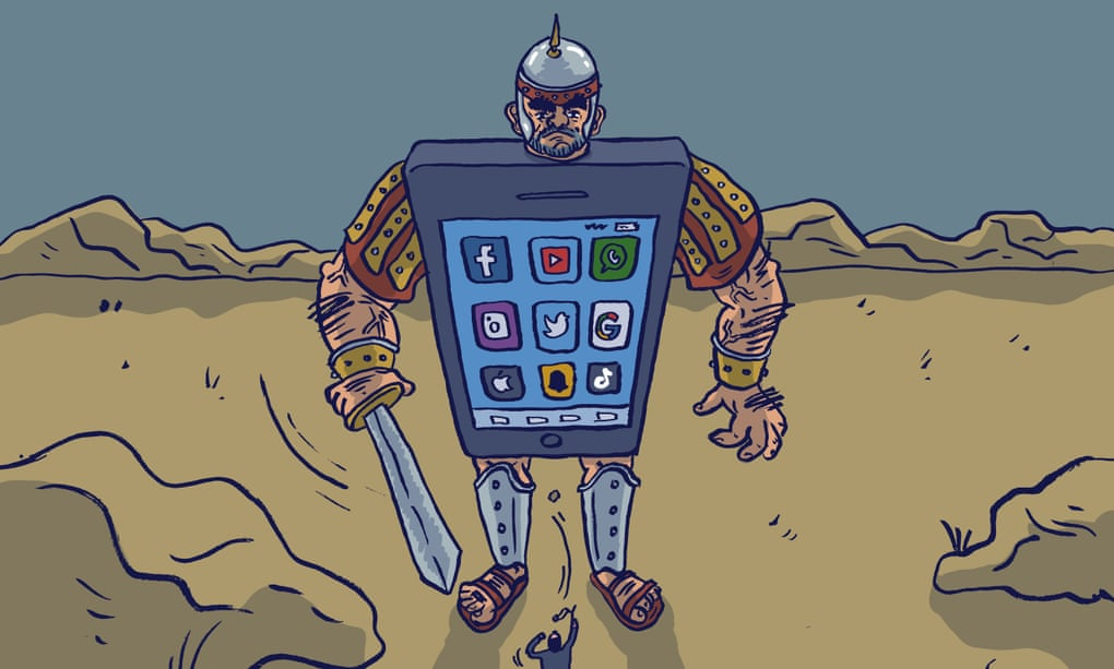 Fight against tech giants