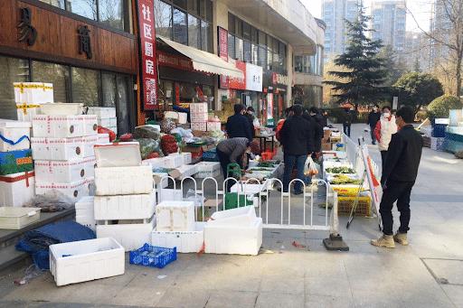 China's community group buying