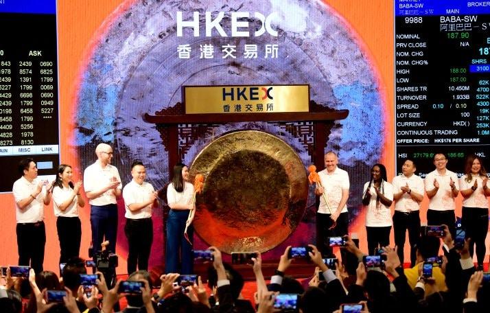 Alibaba HKEx
