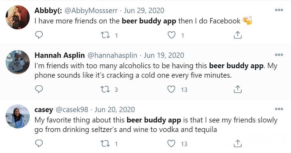 beer buddy twitter reviews