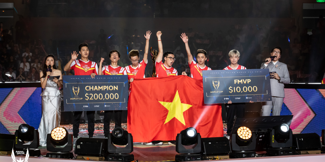 E-sports events in VN